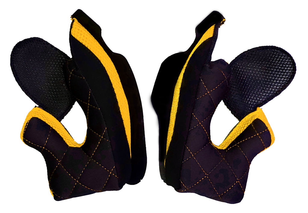 Quin Spitfire Nero Cheek Pad (SET)