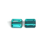 Emerald Cut Blue Tourmalines