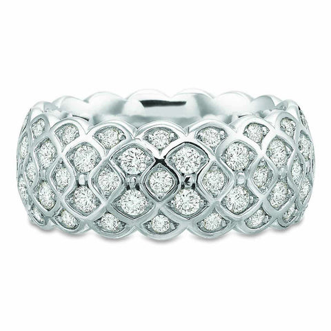 Platinum Odessa™ Diamond Eternity Band .51 CTW