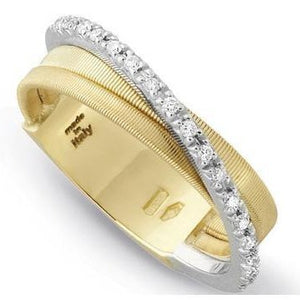 Goa 18K Handmade Yellow Gold Ring