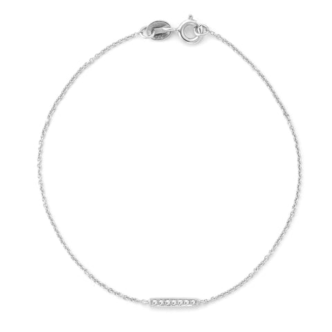 Sylvie Rose 14K White Gold Bracelet