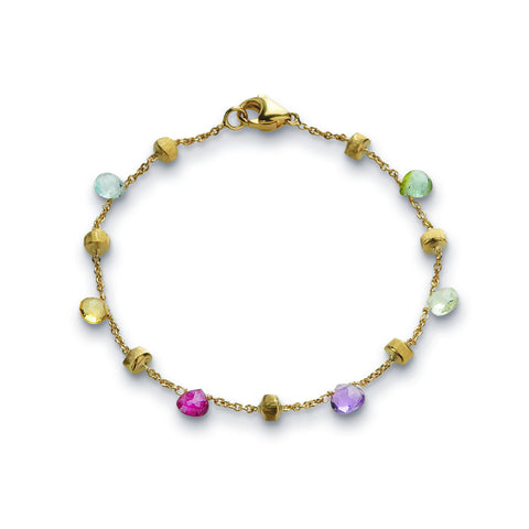 Paradise 18K Yellow Gold Multistone Bracelet