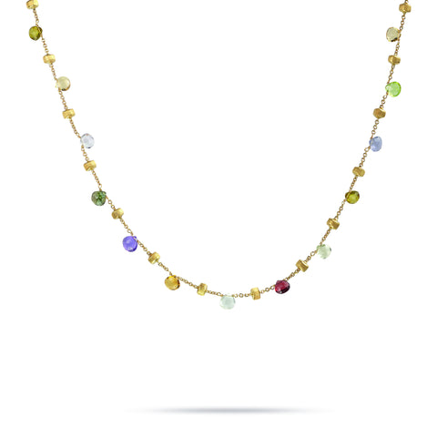 Paradise 18K Yellow Gold Mixed Stone Necklace