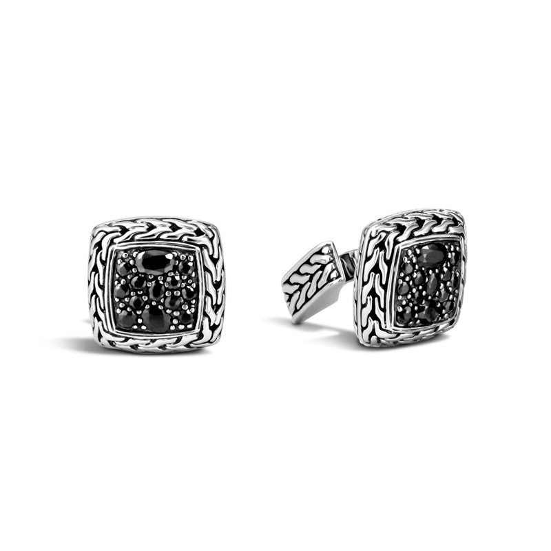 Classic Chain Square Cufflinks