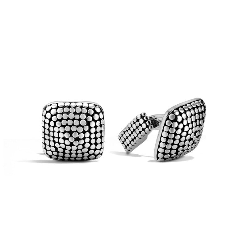 Dot Square Dome Cufflinks