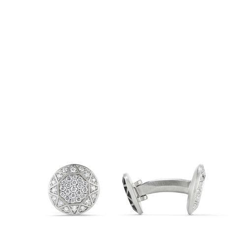 Pavé Cufflinks with Diamonds