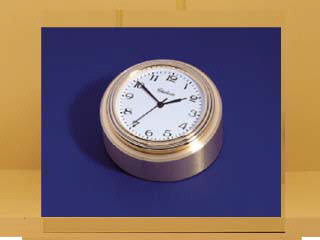 Button Clock with Waterfall Bezel