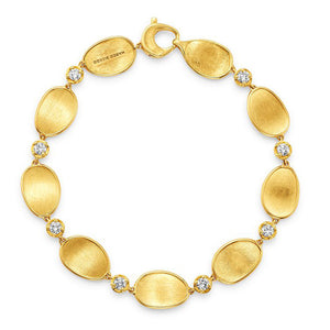Lunaria 18K Yellow Gold Diamond Bracelet