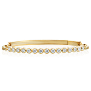 18K Yellow Gold Diamond Moonlight Bracelet