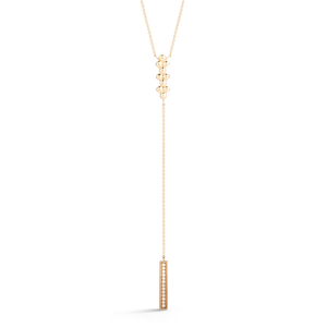 Poppy Rae 14K Yellow Gold Diamond Necklace