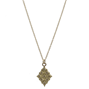 18K Yellow Gold Crivelli Necklace