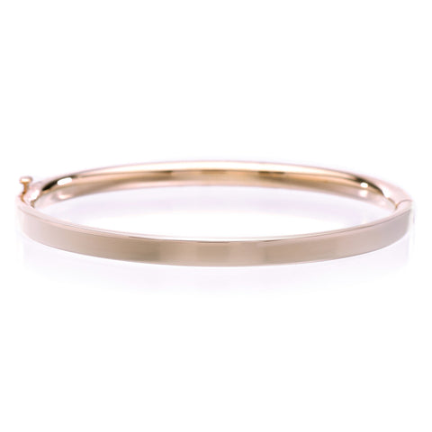 14K Yellow Gold Child's Bangle Bracelet