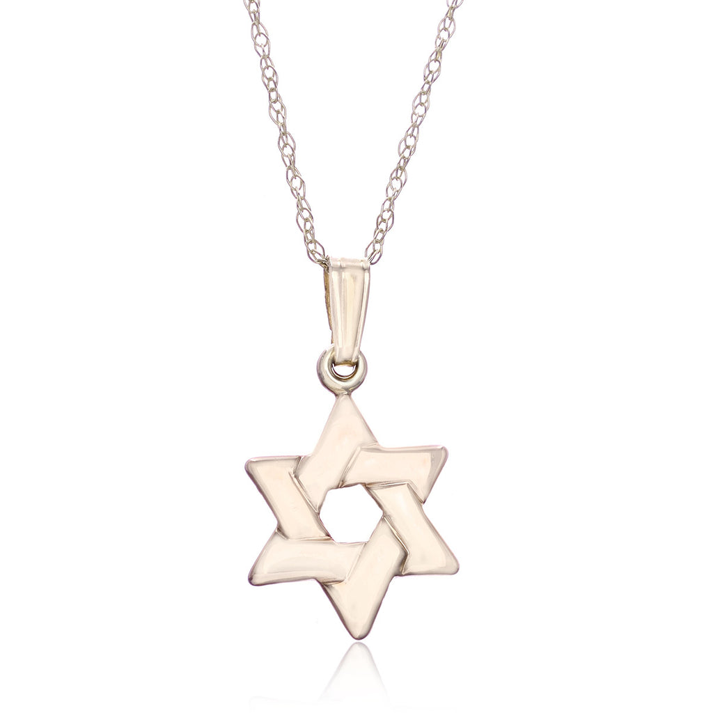 14k yellow gold star of david pendant longs jewelers 14k yellow gold star of david pendant aloadofball Image collections