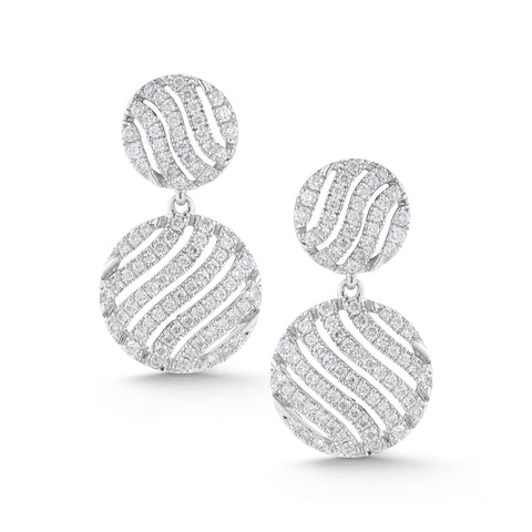 Jeb 14K Diamond Drop Earrings