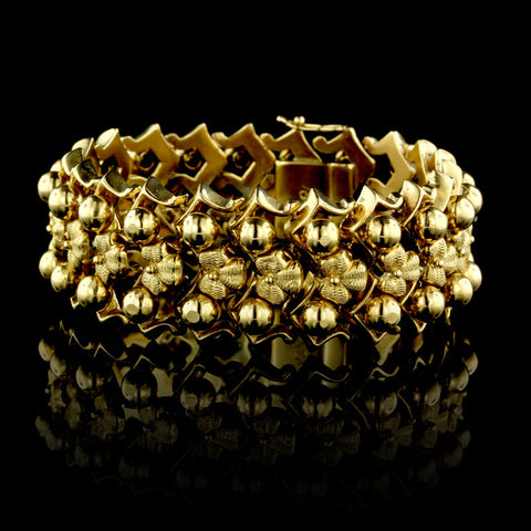 18K Yellow Gold Bracelet
