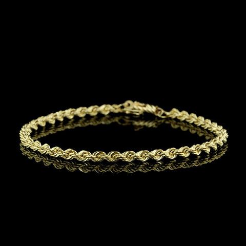 14K Yellow Gold 3mm