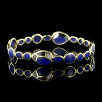 Ippolita 18K Yellow Gold Rock Candy Lapis Bangle