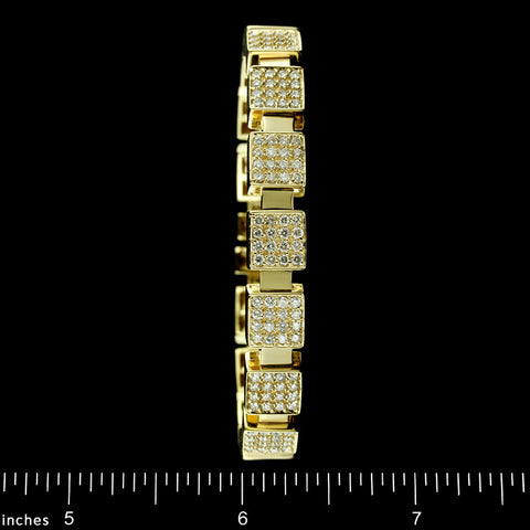 Sonia B. 14K Yellow Gold Diamond Bracelet