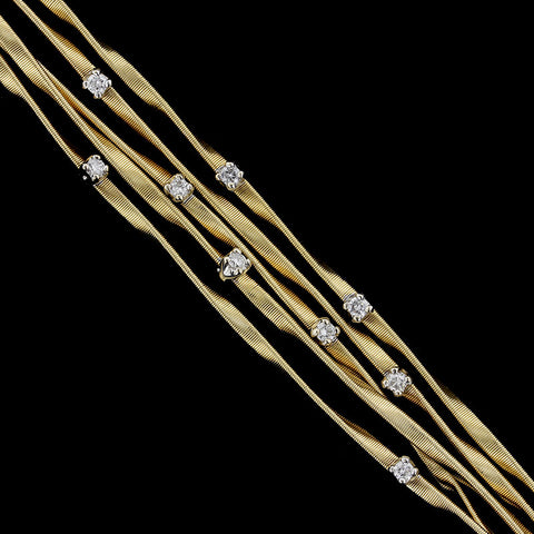 Marco Bicego 18K Yellow Gold Marrakech Diamond Bracelet