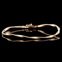 Marco Bicego Italy 18K Rose Gold Twisted Marrakech Bracelet
