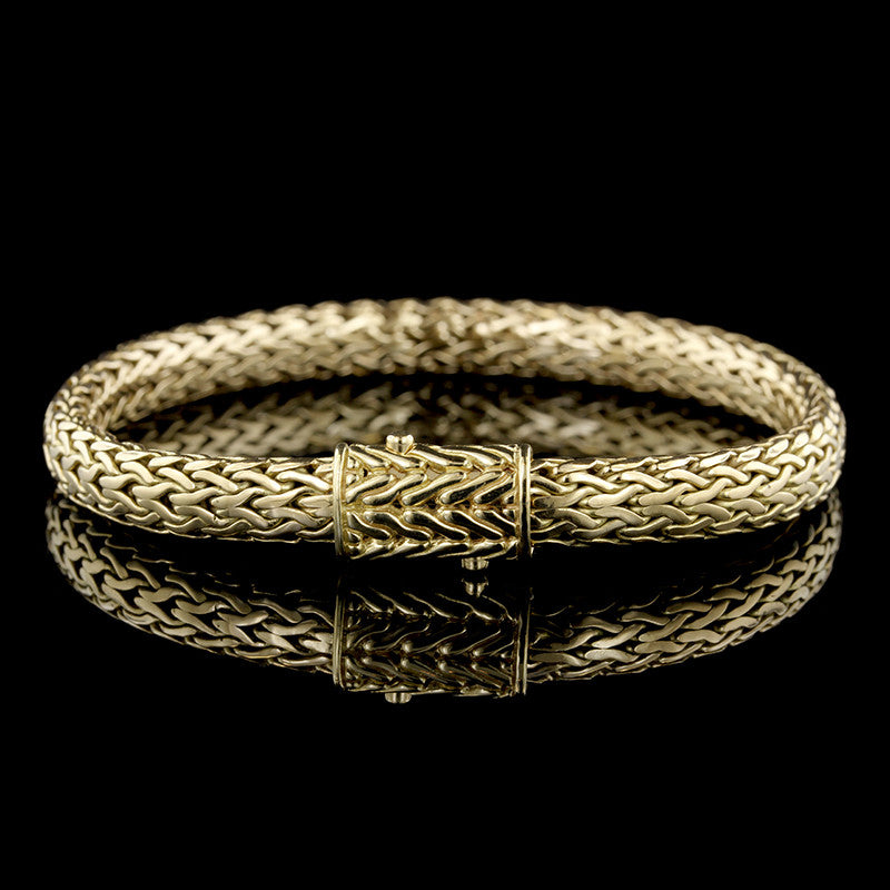 John Hardy 18K Yellow Gold Bracelet