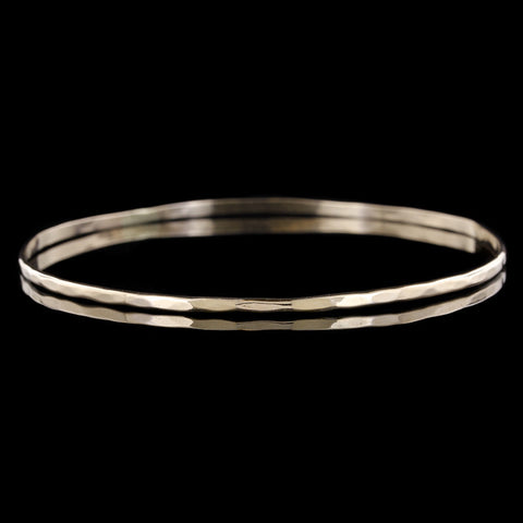 Platinum Low Dome Wedding Band 3mm