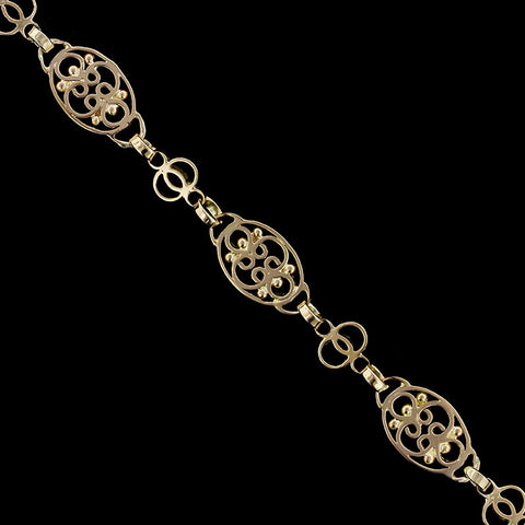 14K Yellow Gold Estate Bracelet