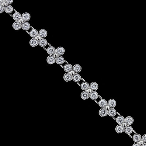 Tiffany & Co. Platinum Diamond Bracelet