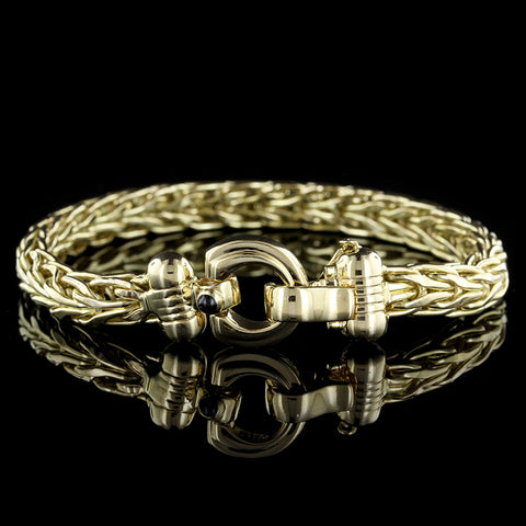 18K Yellow Gold Bracelet.