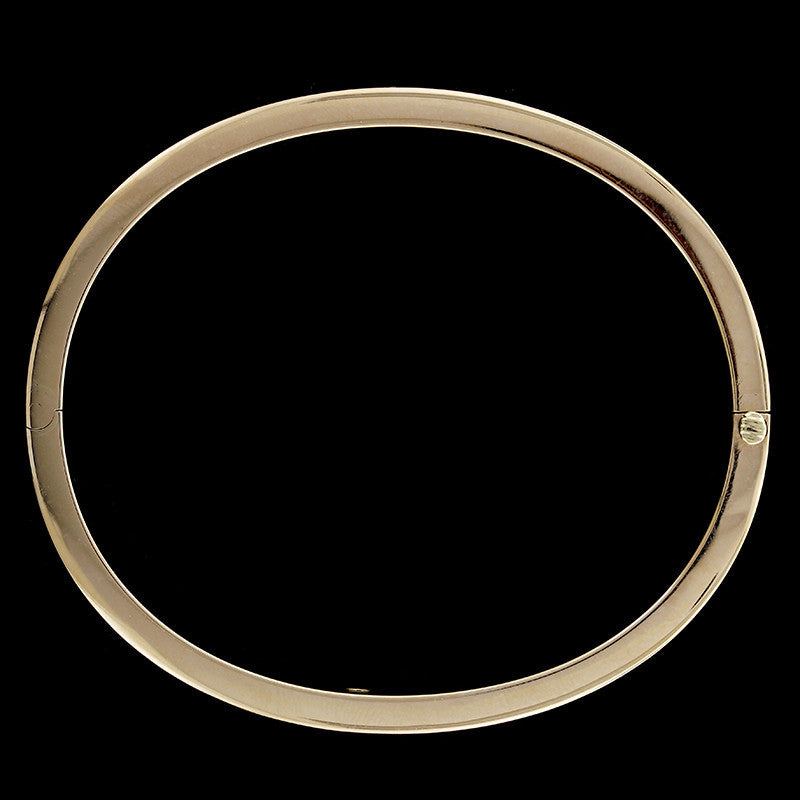 Antique 14K Yellow Gold Bangle