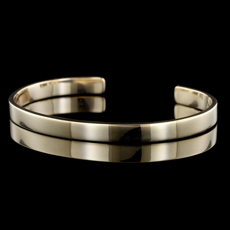 14K Yellow Gold Cuff Bracelet