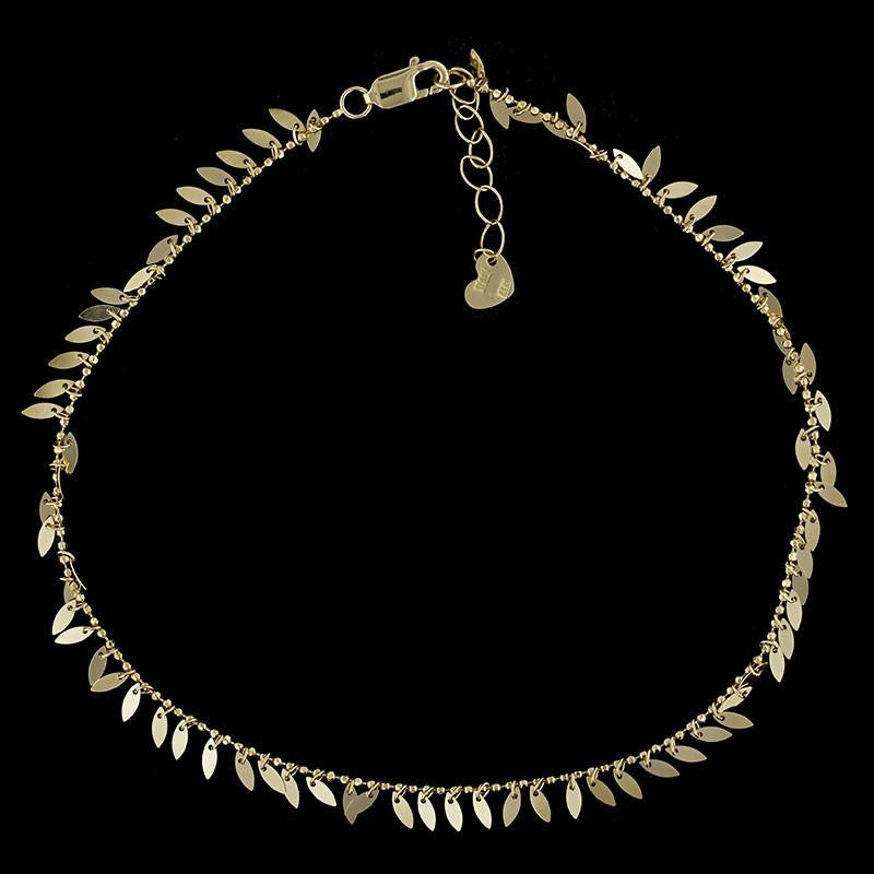 yard yellow anklet by gold diamonds the