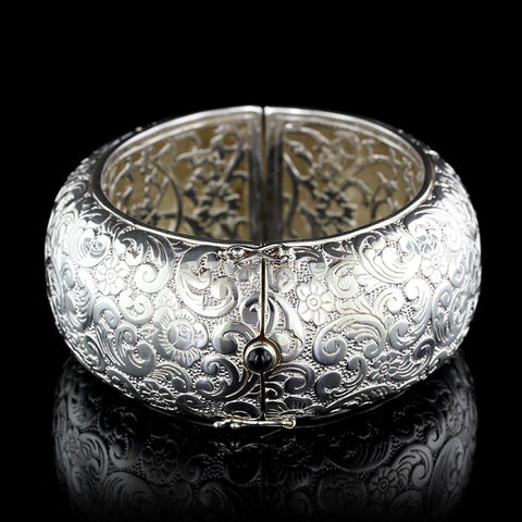 Monica Rich Kosann Sterling Silver Bangle