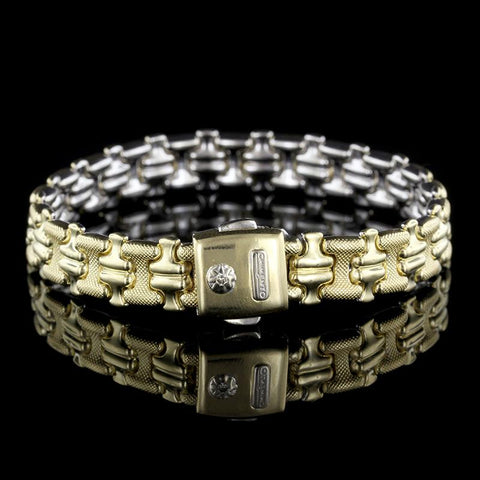 Chimento 18K Two-Tone Gold Reversible Bracelet