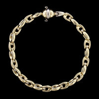 18K Yellow Gold Fancy Link Bracelet