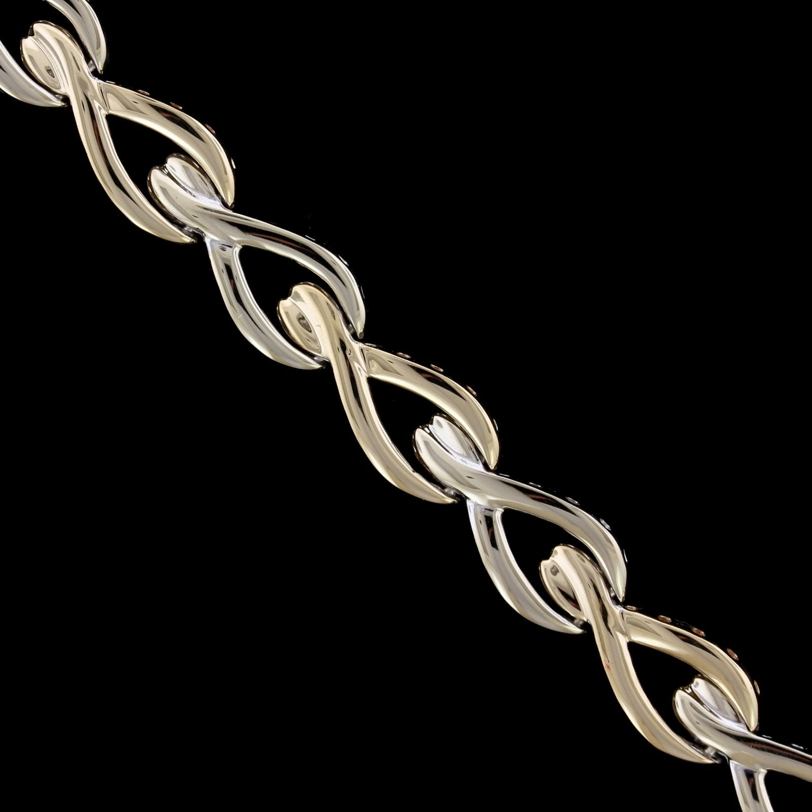 14K Two-Tone Gold Estate Bracelet