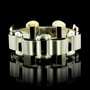 Retro 14K Yellow Gold Estate Bracelet