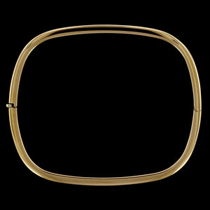 Roberto Coin 18K Yellow Gold Estate Square Bangle Bracelet