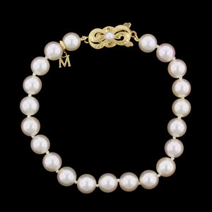 Mikimoto Estate Cultured Pearl Bracelet