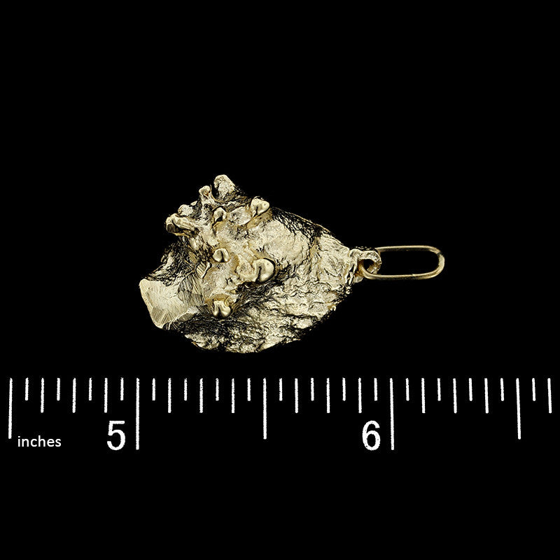 14K Yellow Gold Lantern Charm