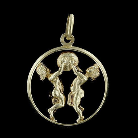 14K Yellow Gold Children Charm