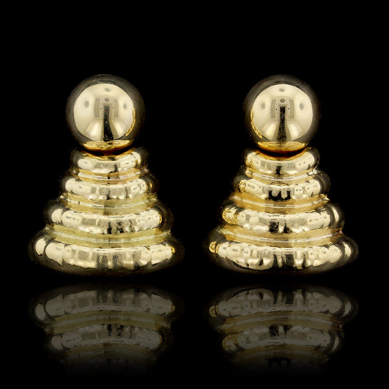 Favero 18K Yellow Gold Earrings
