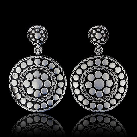 John Hardy Sterling Silver Dot Nuansa Earrings