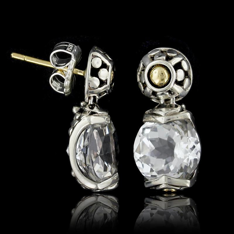 cea0b575d 30 Day Money Back Guarantee. John Hardy Sterling Silver and 18K Yellow Gold  White ...