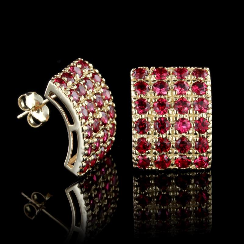 bilgore high spinel jewelry red product jeffrey res platinum earrings