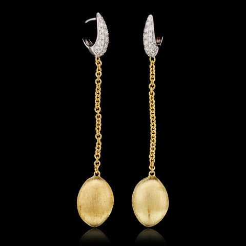 Marco Bicego 18K Yellow Gold Diamond Confetti Earrings