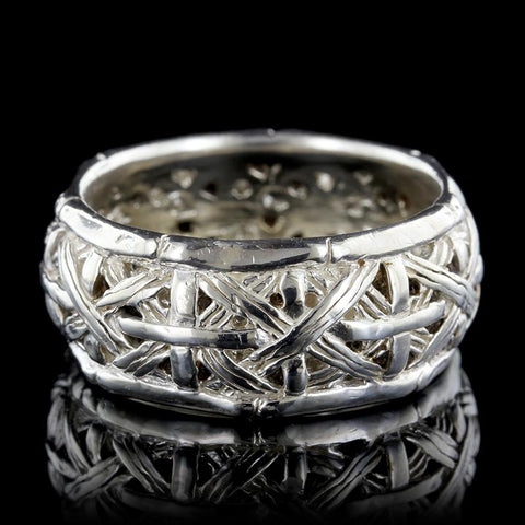 John Hardy Sterling Silver Woven Band