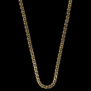 14K Yellow Gold Estate Anchor Link Chain