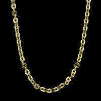 18K Yellow Gold Flat Anchor Link