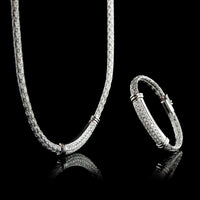 Roberto Coin 18K White Gold Diamond Bracelet